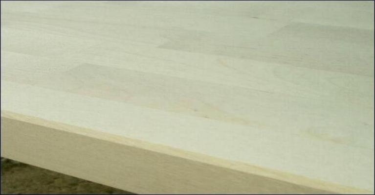 Bordplade - Prisbillig lys plade i massiv birk
